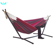 Indoor Comfort Hanging Chair Bed Hammock Yard Striped Hanging Chair Large Hammocks Chair Thick Canvas Stripe Bed Hammock  HTML
