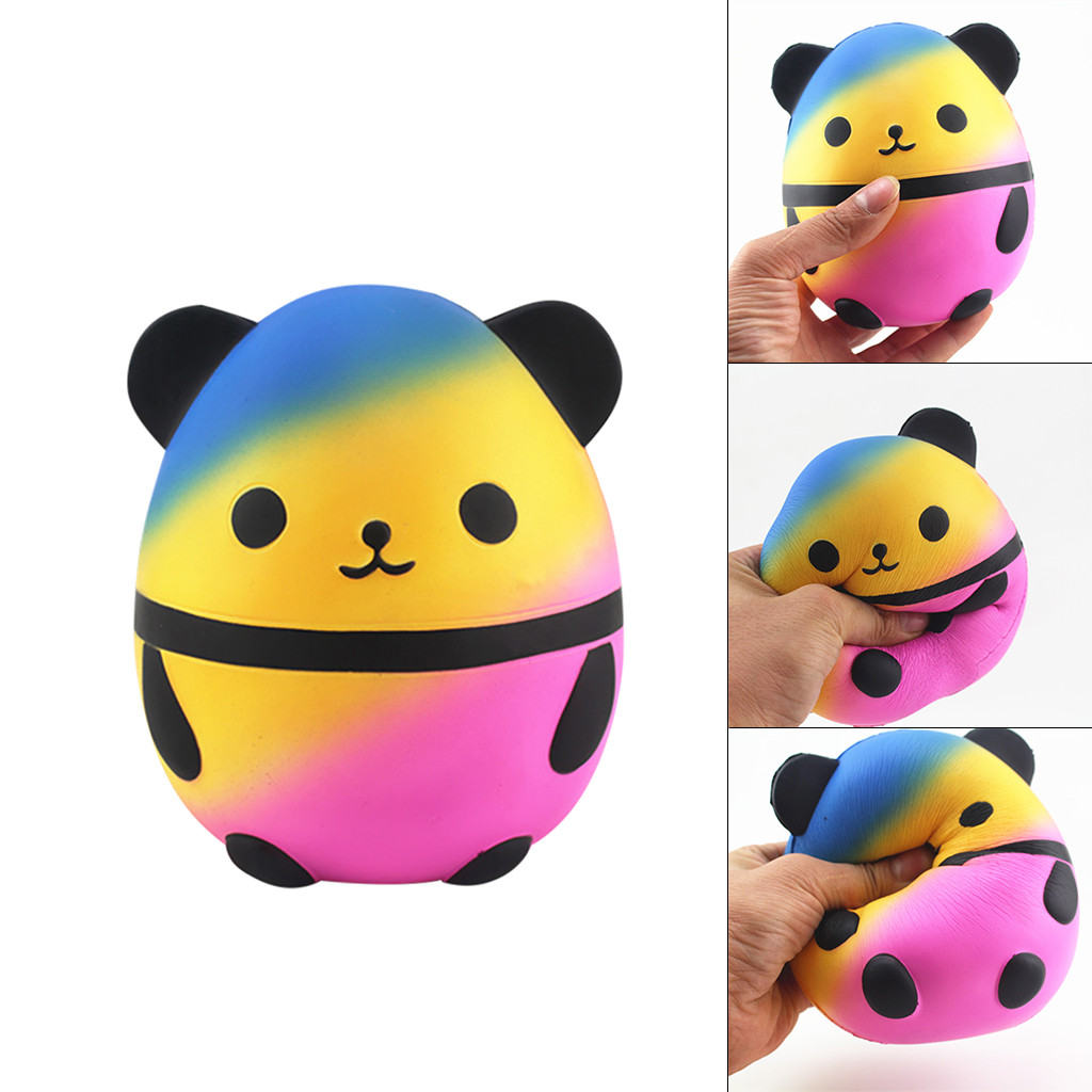 Squishy Kawaii Gigantes Cute Squeeze Toys Squishy Squishies Cartoon Cute Panda Slow Rising Scented Stress Relief ToysW731