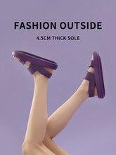 UTUNE – sandales à plateforme pour femmes, chaussures d'été, pantoufles d'extérieur EVA, diapositives de plage souples, semelle épaisse, antidérapantes, sandales d'intérieur