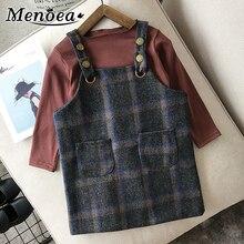 Menoea Girls Dress jesienno-zimowa nowa sukienka dla księżniczki dziecięca koszulka + dziewczynka sukienka na szelkach Casual dzieci baby Girl clothes