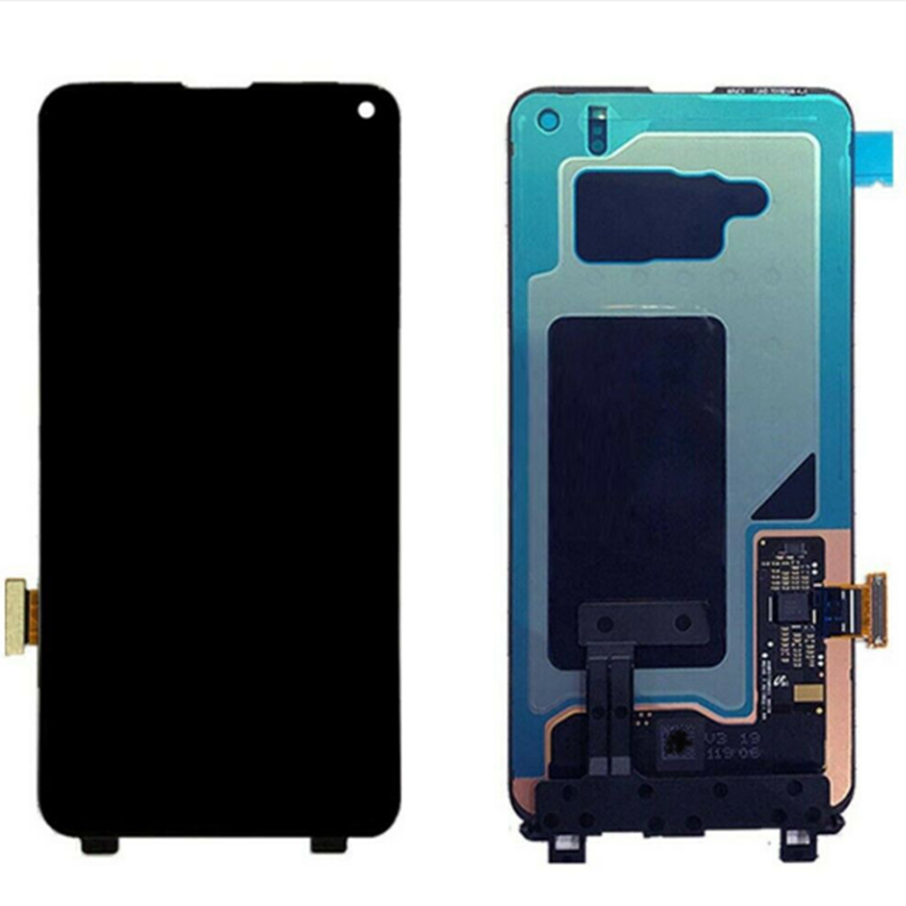 100% Original Super AMOLED LCD For Samsung S10 SM-G9730 G973F LCD Display Touch Screen Digitize Dead Pixels
