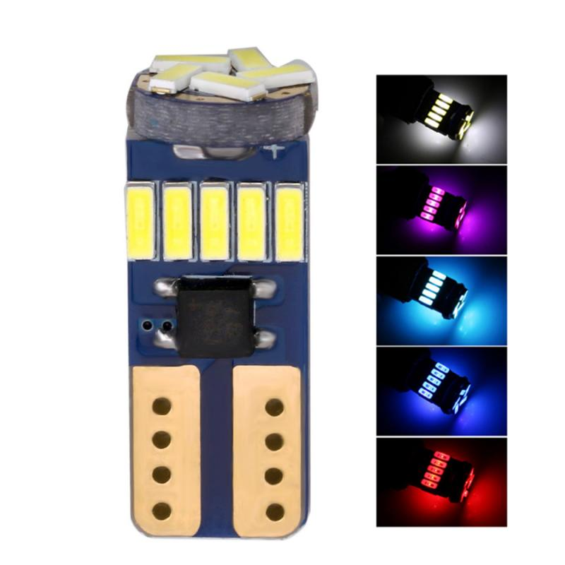 Universal T10 4014 15LED Super Bright LED Car Width Lamp Automobiles License Plate/Reading/Turn Signal Light Bulb Auto Parts