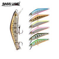 Mini trout minnow isca artificial fishing lure crankbait hard bait wobblers sea bass pike Swimbait leurre pesca fishing baits