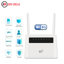 Router 300mbps CPE Sim-Card External-Antenna Wifi 4g-Modem Vpn 4g Mobil LTE with Rj49
