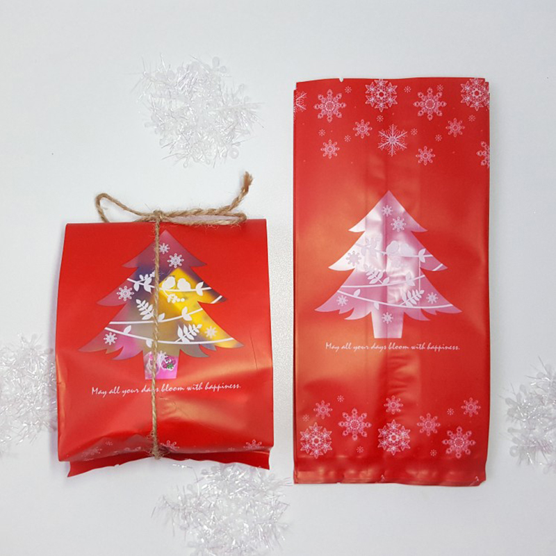 Xmas 60pcs Gift Bags Christmas Gift Box New Year Plastic Candy Bag Box For Children Christmas Party Festive Decoration Supplies in Party DIY Decorations from Home Garden