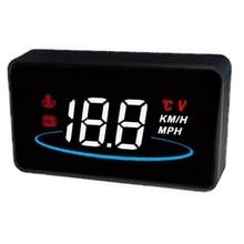 Universal HUD Head Up Display ,Vehicles OBD2 Overspeed Warning Smart Gauge ODB2 System Car Speedometer Test Tool