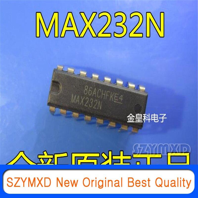 5 Pçs/lote Original Novo MAX232N PDIP-16 RS232 chip Em Estoque