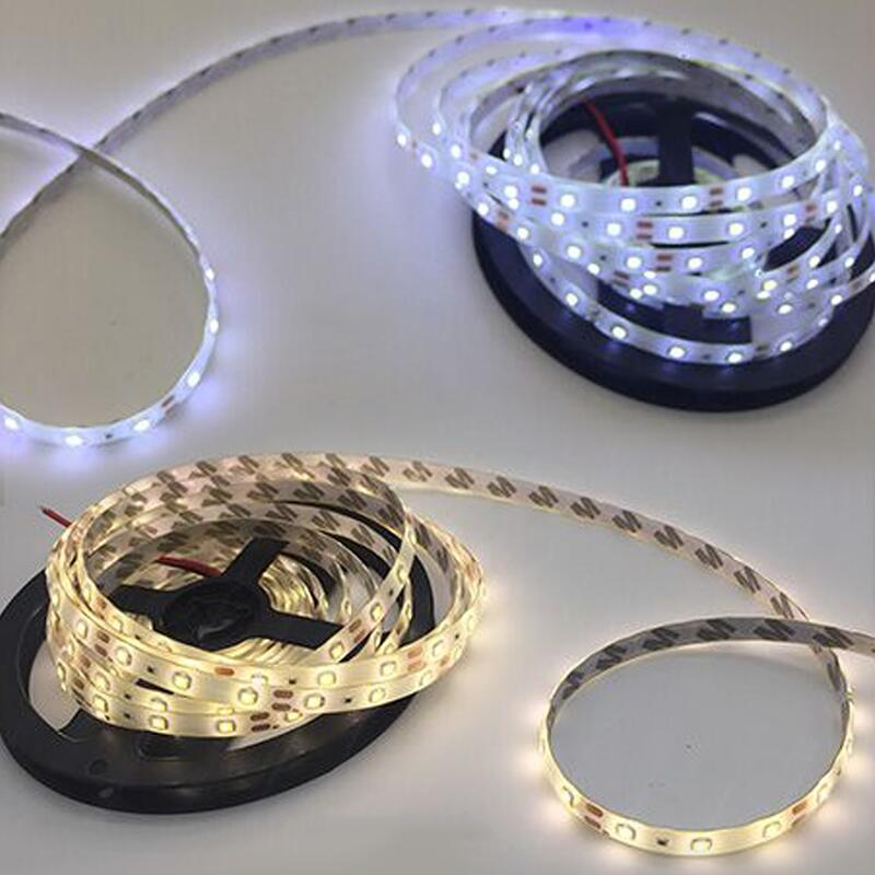 H3cd9cc49b9b341b59bd3edeeadd88167y 5M 300 LED Strip Light Non Waterproof DC12V Ribbon Tape Brighter SMD3528 Cold White/Warm White/Ice Blue/Red/Green/blue