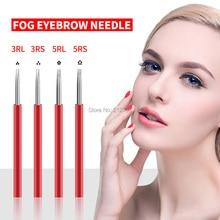 Tattoo-Needle Microblading-Blade Semi-Permanent 5RL Makeup 50pcs 5RS 3RL3RS Manual-Pen