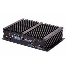 2 DDR4 MiniPC Industrial Mini PC Computer Core i7 10510U 4K HTPC 3D Blu Ray VGA 2*RS232 Nettop HDMI Desktop Windows10 Linux WiFi