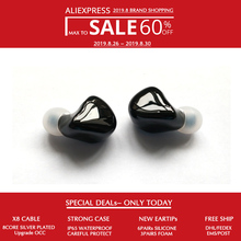 Hisenior B5 5 10BAs Universal Fit Balanced Armature In-Ear Monitor IEM Noise Cancelling Custom Earphone DHL/FEDEX Free Shipping соковыжималка для цитрусовых axentia ручная