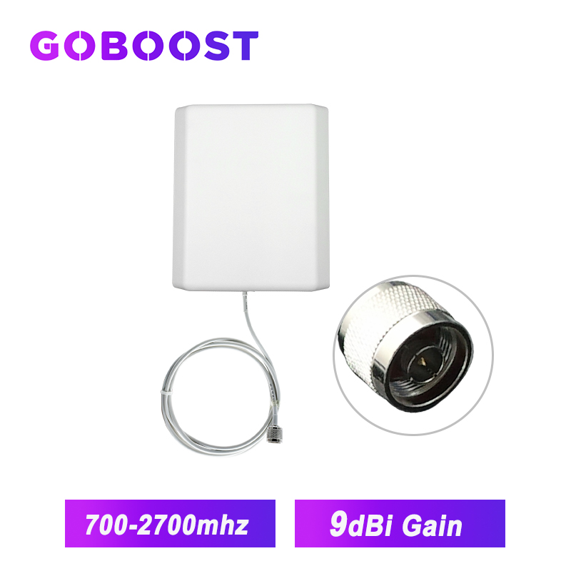 Indoor Antenna 4G GSM 3G 700-2700MHz 9dBi Wall-mounted Antenna 2G For Communication Network Cellphone Booster /