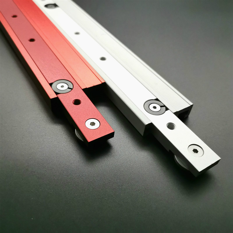 Woodworking Tools <font><b>T</b></font> Slot Miter Bar Slider Slab <font><b>T</b></font>-<font><b>track</b></font> Aluminium Alloy Slot Miter <font><b>Track</b></font> For Router Table Saw Miter Carpenter DIY image
