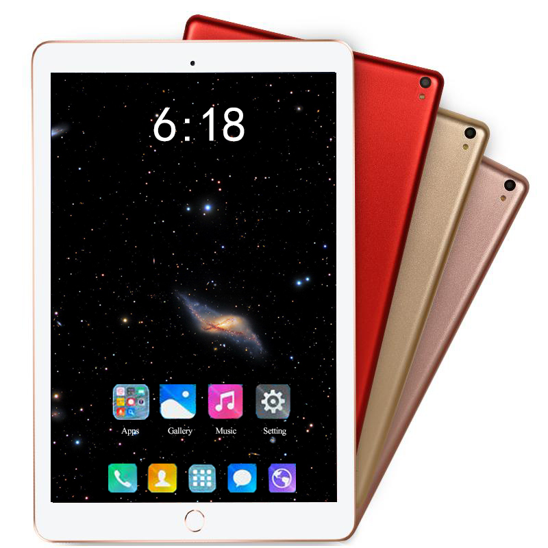 Super Tempered Glass Android 8.0 Tablets 10 Inch 3G 4G LTE Tablet PC 1280*800 6GB RAM 128GB ROM Dual SIM IPS GPS Phone Tablet