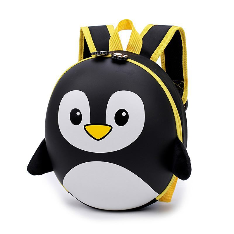 2018 Children Cartoon Penguin School Bags Kindergarten Kids Mini Hard Shell Backpack Waterproof Schoolbags For Boys And Girls Y8