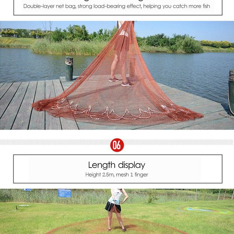 de pesca fácil de jogar net novato especial rotativo peixe net
