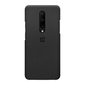 Image 2 - Final Stock OnePlus 7 Pro Case Sandstone Nylon Carbon Bumper Official OnePlus 7Pro Original 3D Tempered Glass Screen Protector