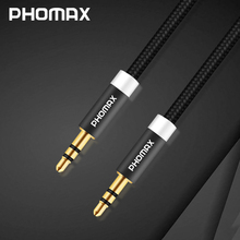 PHOMAX 3.5 mm Jack Audio Cable for iPhone X Samsung Xiaomi 3.5mm AUX Auxiliary Cord Male to Male Audio Cable For CAR MP3/4 jack цена и фото