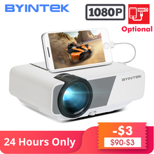 BYINTEK SKY K1/K1plus LED Portable Home Theater HD Mini Proj