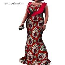 Африканские платья размера плюс для женщин африканские с принтом