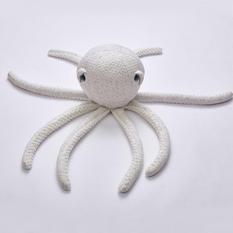 Baby Pillow Newborn Cuddle Pillow Cushion Baby Cushion Toddler Room Bed Decor Cute Octopus Cotton Cute YZL012