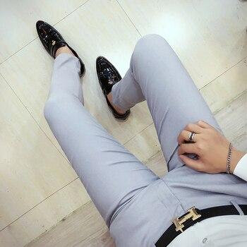 Μόδα 2020 παντελόνι κουστουμιού Αντρικά Παντελόνια Ρούχα MSOW