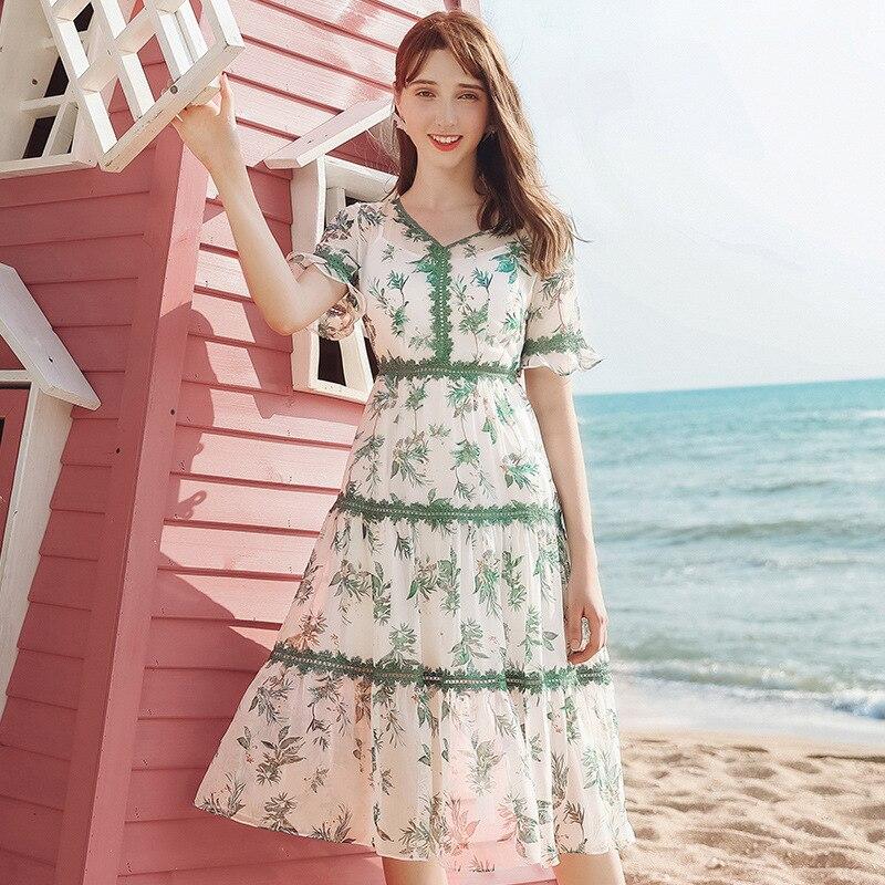 Женское платье в горошек Simplee, без рукавов, с пуговицами и поясом, облегающее пляжное платье миди, Уличная Повседневная пляжная одежда, летне...