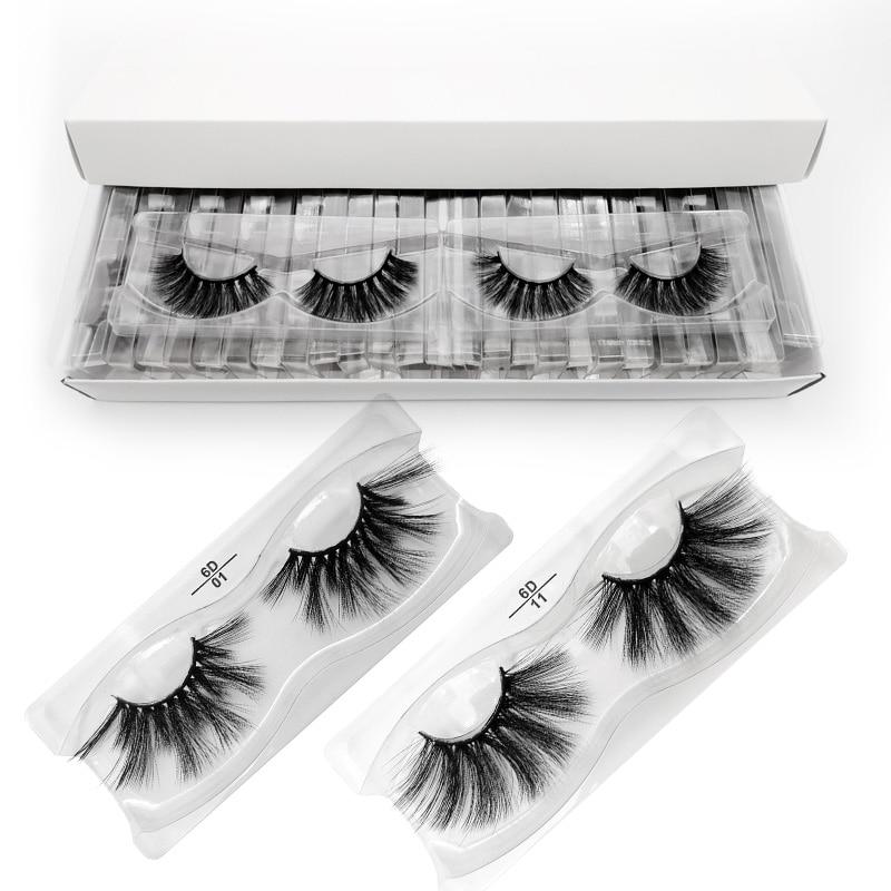 SHIDISHANGPIN 25mm Lashes Wholesale Mink Eyelashes 3d Mink Lashes Bulk Makeup Eyelashes 25mm Long Fake Eyelash Cilios Maquillaje