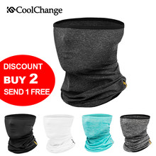 CoolChange Ice Fabric Bike Face Mask UV Protection Outdoor Sport Cycling Bandana Ride Training Mask Neck Bicycle Headband Scarf(China)