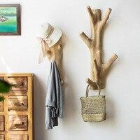 Garden Creative Tree Branch Hat Clothes rack Wall mount hooks towel crochet hangers porta scarpe bathroom accessories