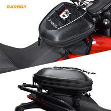 Magnet Motorcycle Tank Bag Mobile Phone GPS Navigate Package Moto Front Tube Tail Helmets Storage Expandable Motorbike Backpack