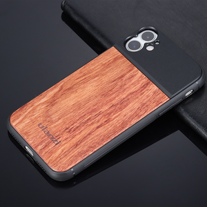 Image 3 - Ulanzi 17MM Thread Wooden Phone Case for iPhone 8 Plus Xs Max XR for iPhone 11 Pro Max