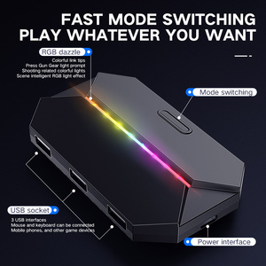 Image 4 - Yeni G6 klavye ve fare adaptörü Gamepad denetleyici dönüştürücü PS4 PS3 Xbox One Nintendo anahtarı oyun aksesuarları