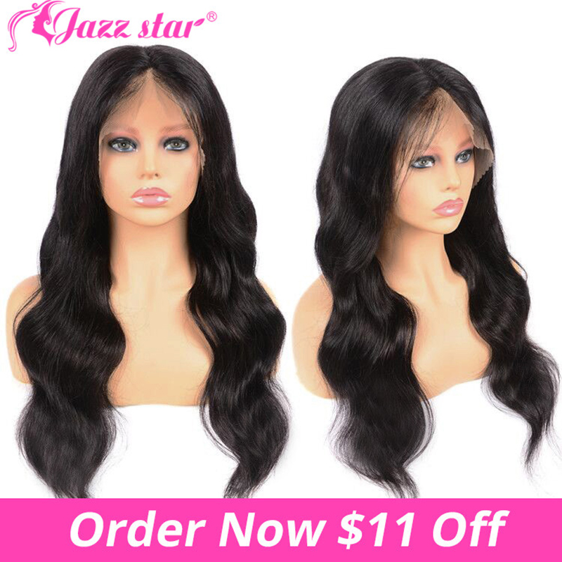 Brazilian Body Wave Wig 13*4/13*6 Lace Front Human Hair Wigs For Black Women Lace Wig Plucked With Baby Hair Non Remy Jazz Star