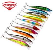 Leurre de pêche dur composé de 10 couleurs, appât artificiel composé de plusieurs sections articulées, w1198, 8.2g, 9.5cmLexin