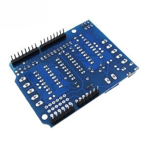 L293D щит привода двигателя двойной для arduino Duemilanove, плата расширения двигателя управления двигателем щит