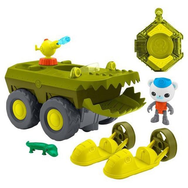 Octonauts télécommande gup-k lancement et sauvetage Crocodile sauvetage navire Barnacles Peso Kwazii figurine scène modèle enfants jouets