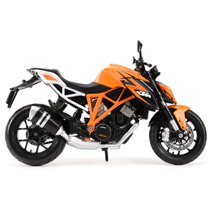 Image 5 - Maisto 1:12 KTM 1290 Super Duke R Orange Die Cast Vehicles Collectible Hobbies Motorcycle Model Toys