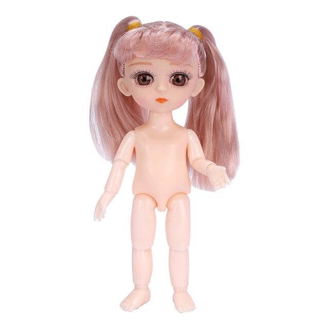 Lucu 13 Bergerak Jointed Mainan Boneka 3d Mata 15 5 Cm Ob Untuk Anak Laki Laki Dan Perempuan Boneka Telanjang Tubuh Telanjang Boneka Fashion Mainan Untuk Gadis Hadiah Boneka Aliexpress