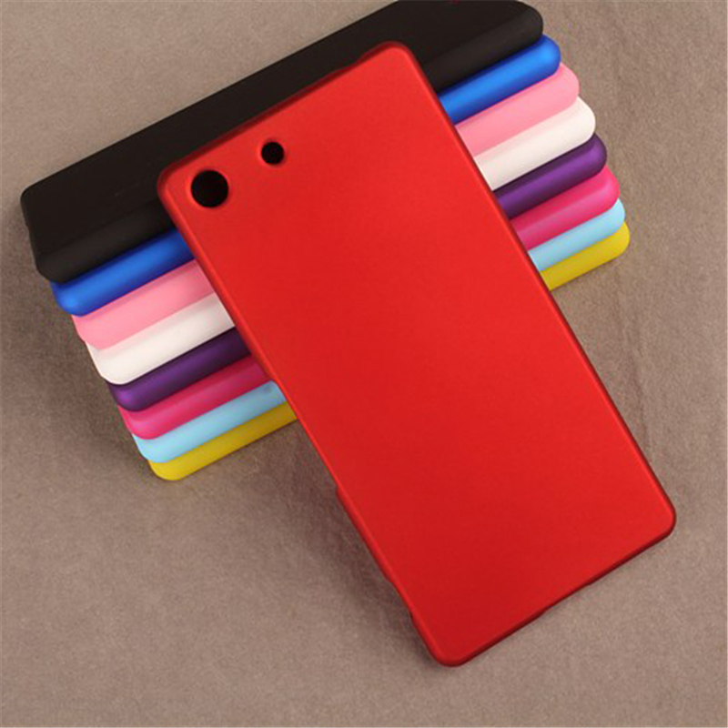 Luxury Matte Plastic Hard Case for Sony Xperia Z1 Z2 Z3 Compact Z4 Z5 Mini M5 հետևի կափարիչը ծայրահեղ բարակ