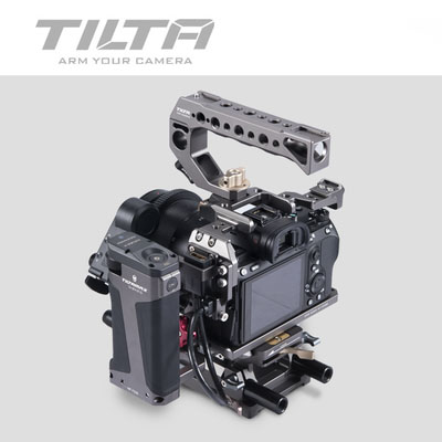Image 5 - Tilta TA T17 A G Rig Cage For Sony A7II A7III A7S A7S II A7R II A7R IV A9 Rig Cage For SONY A7/A9 series Tiltaing VS Smallring-in Photo Studio Accessories from Consumer Electronics