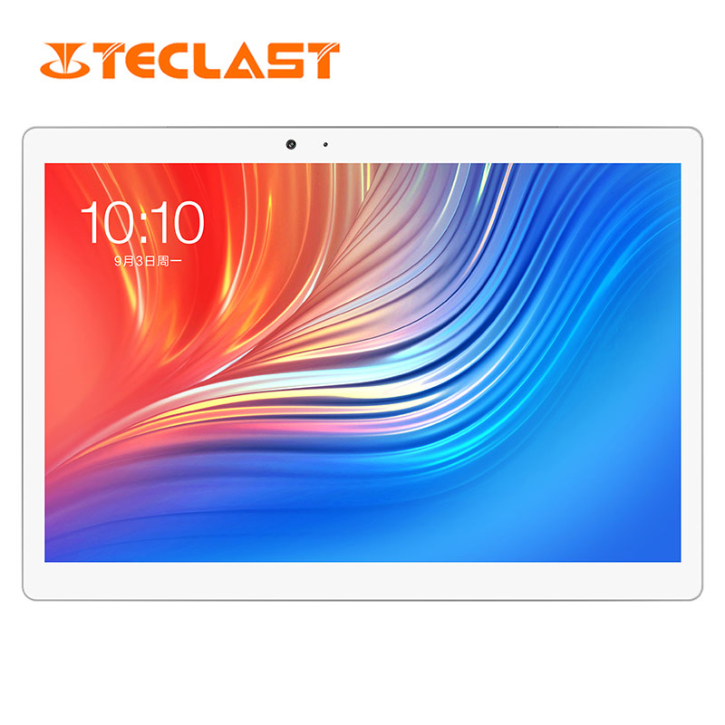 Teclast T20 Tablet PC Helio X27 10.1 Inch 2560*1600 Deca Core 4GB RAM 64G Dual 4G SIM Android 7.0 OS 8100mah 13MP
