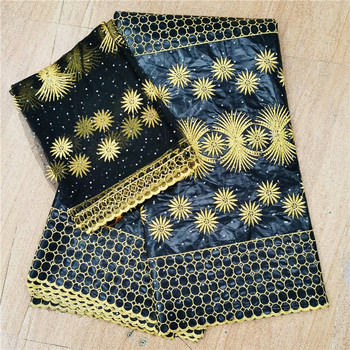 Latest African bazin riche 2020 new arrival bazin riche fabric with Stones brode bazin for Men and women dress 82-923
