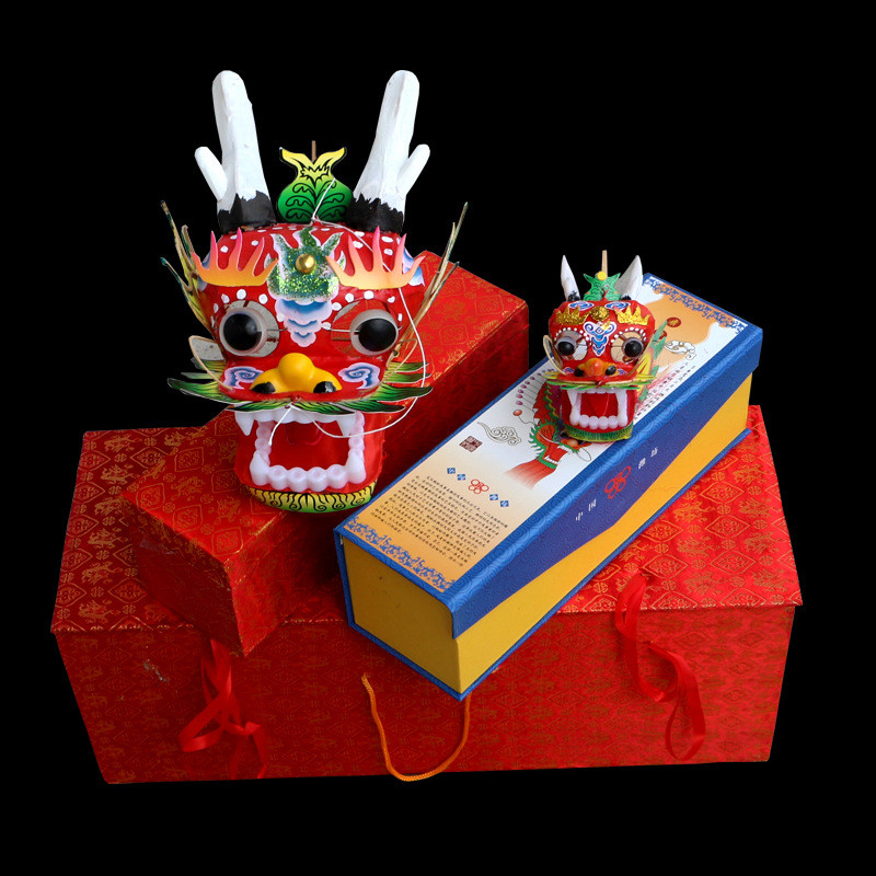 2019 New Chinese Traditional Crafts Dragon Head Centipede Kite Decoration Gift Souvenir Can't Fly