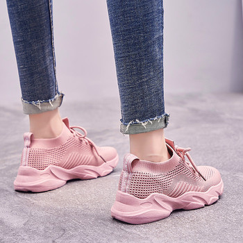 Fashion Sneakers Women high quality Woman Casual Shoes  tenis feminino ladies wedges espadrilles Zapatillas Mujer Trend Autumn