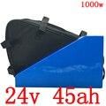 24V 500W 750W 1000W литиевая упаковка 24V 45AH электрическая велосипедная батарея 24V аккумулятора электроскутера с 50A BMS + 29 4 V 5A зарядным устройством