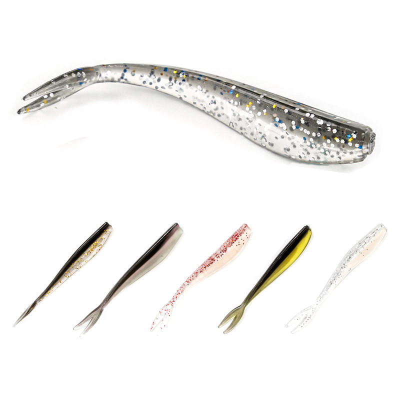 12 pcs/set 7cm 1.3g Soft Fishing Lure Set Soft Bait Worm Artificial Fly Fishings Silicone Lures Jig Swimbait Hook Spinner Baits