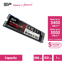 Silicon Power A80 m2 NVME SSD 256GB 512GB 1TB 2TB M.2 2280 PCIE nvme Interne Solid state Drives Festplatte Für Laptop/Desktop