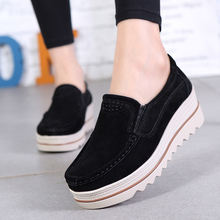 Женские нескользящие туфли Классические однотонные удобные на