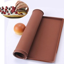 Non-Stick Silicone Oven Mat Cake Rolling Mat Baking Mat Cakes Pad Roll Pad Dough Mat Bakeware Baking Tools Kitchen Accessories silicone oven baking mat roll functional baking macaron non stick cake pad swiss roll pad baking tools for cakes silicone mat